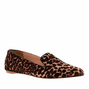 J. Crew Collection Darby Calf Hair Loafers 6